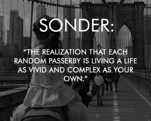 sonder meaning