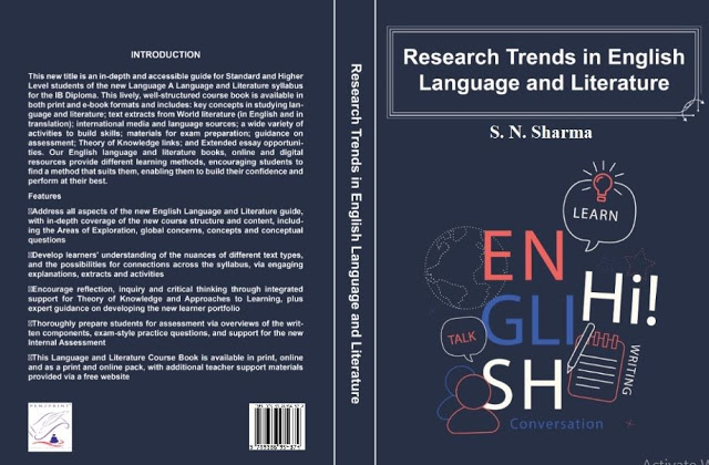 Call for Book Chapters- Research Trends in English Language and Literature