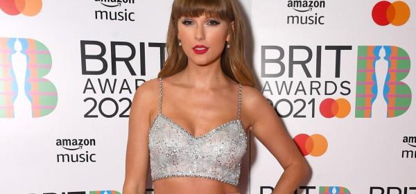 Taylor Swift at 2021 Brit awards