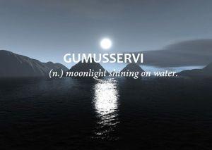 Gumusservi- Moonlight on water